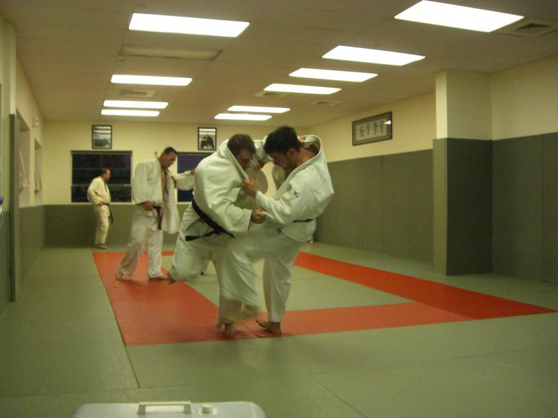 Jon Candito and Brian Pereira indulging in some full blast randori.